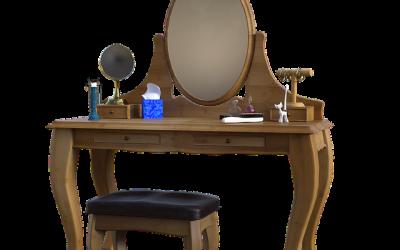 Les avantages d'une coiffeuse meuble